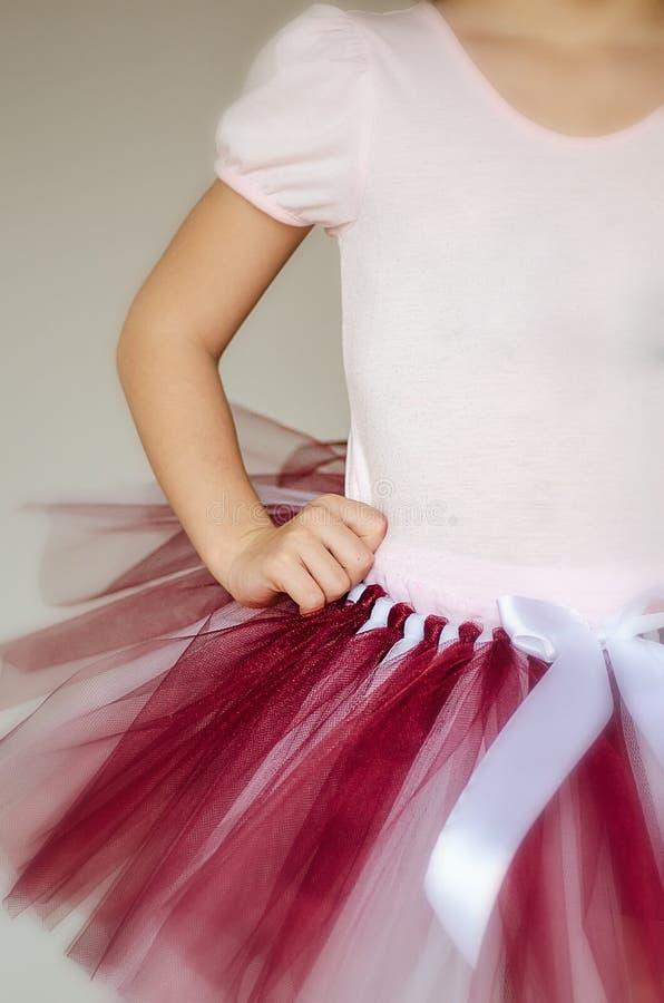 Detalhe do equipamento da bailarina foto de stock royalty free