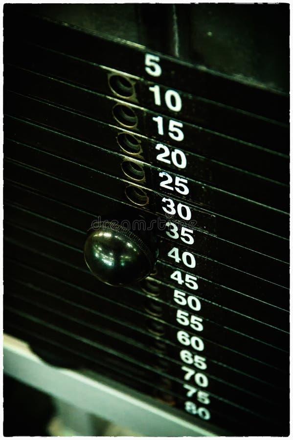 Detalhe do Gym imagens de stock