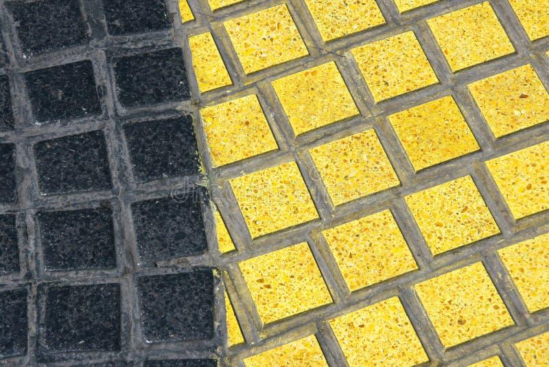 Detalhe do mosaico de Rambla imagem de stock royalty free