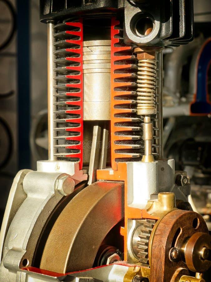 Detalhe do motor imagens de stock