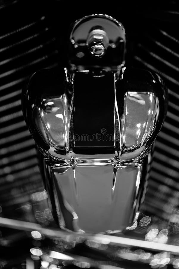 Detalhe do motor da motocicleta imagens de stock royalty free