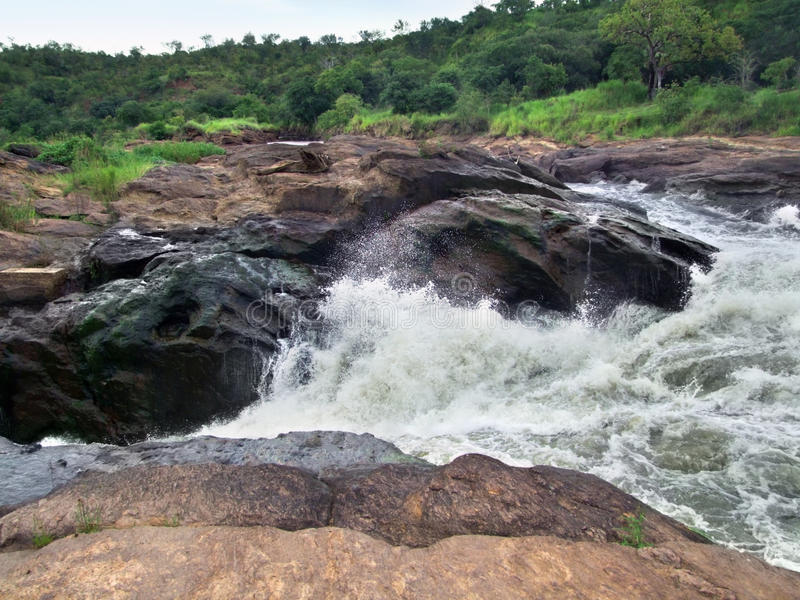 Detalhe do Murchison Falls fotos de stock royalty free