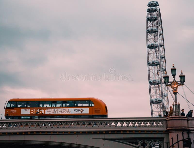Detalhe do olho de Londres - Londres fotografia de stock royalty free