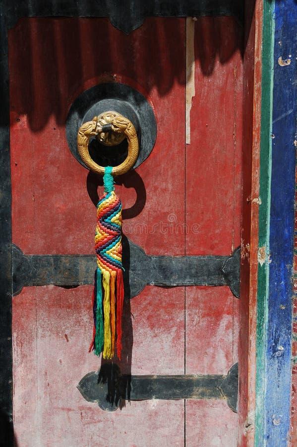 Detalhe do palácio de Tibet Potala fotos de stock