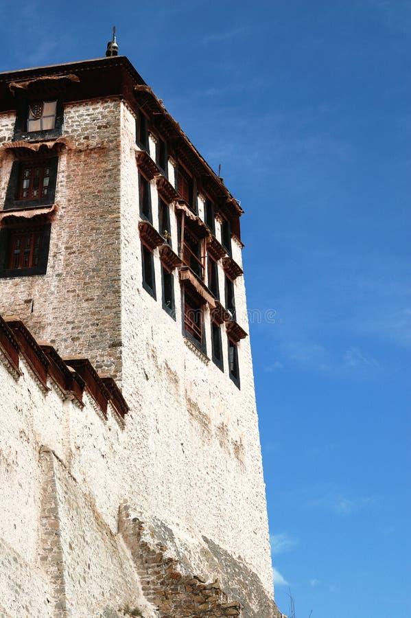 Detalhe do palácio de Tibet Potala imagens de stock