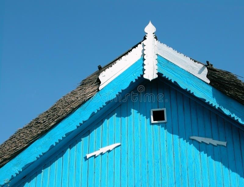 Detalhe do telhado imagem de stock