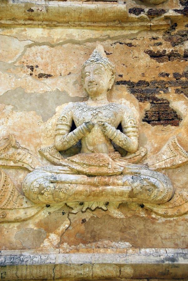 Detalhe do templo imagens de stock