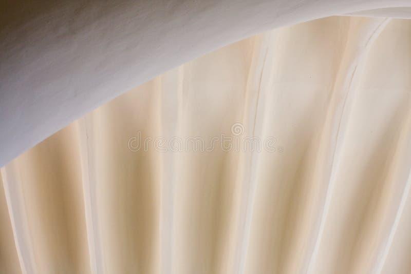 Detalhe do teto do guell de Parc de Gaudi foto de stock