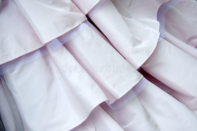 Detalhe do vestido de casamento