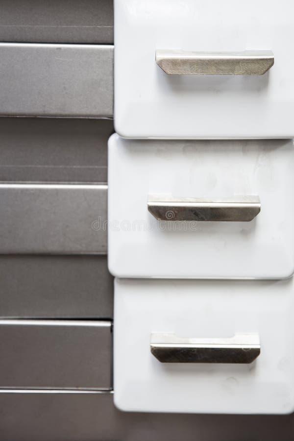 Detalhe dos fogões na fábrica fotografia de stock royalty free