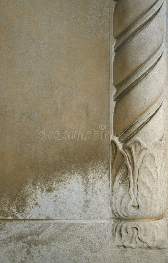 Detalhe espiral imagem de stock