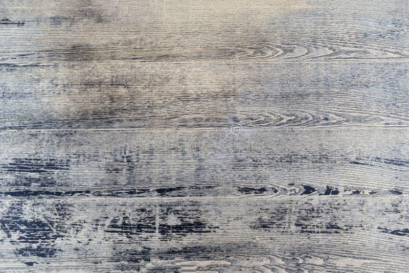 Detalhe Fundo-de madeira pintado vintage da textura de Grey Black Wood Tar Paint da placa da prancha fotografia de stock royalty free