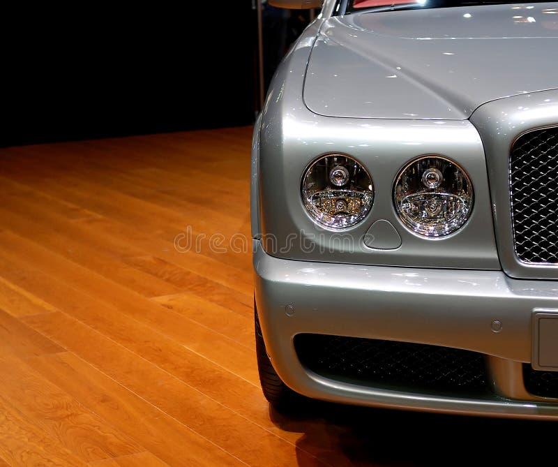 Detalhe luxuoso do carro fotografia de stock