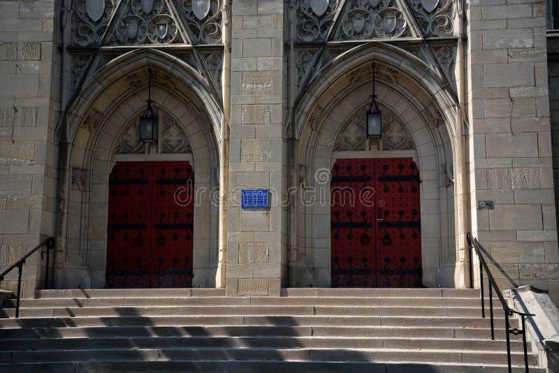Detalhe memorável da capela de Stephen Foster foto de stock royalty free