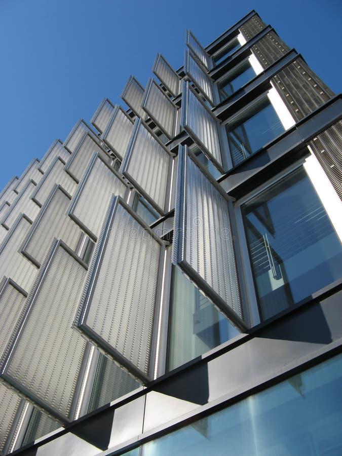 Detalhe moderno 1 do edifício foto de stock royalty free