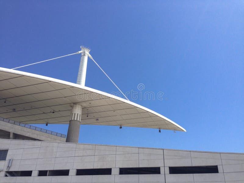 Detalhe moderno do edifício imagens de stock royalty free