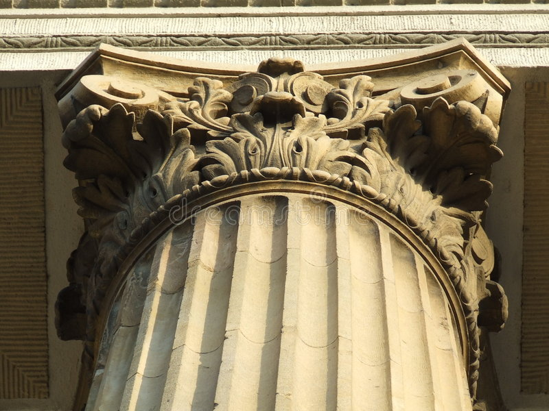 Detalhe Neoclassic fotografia de stock royalty free