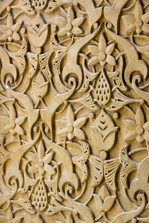 Detalhe no palácio de Monserrate em Sintra, Portugal fotos de stock royalty free