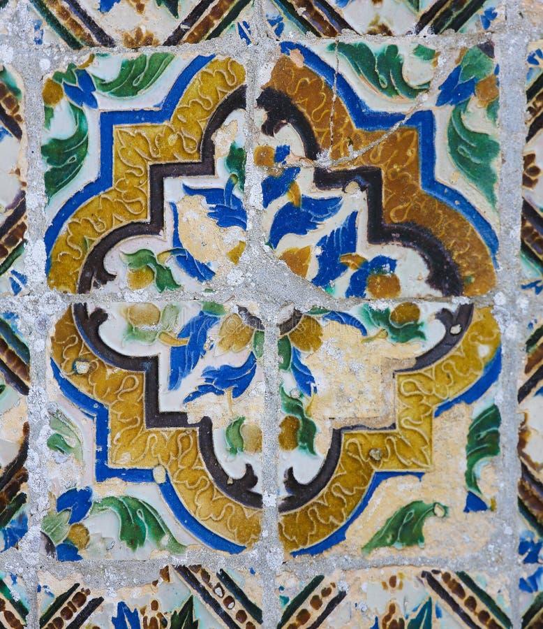 Detalhe no palácio de Monserrate em Sintra, Portugal foto de stock