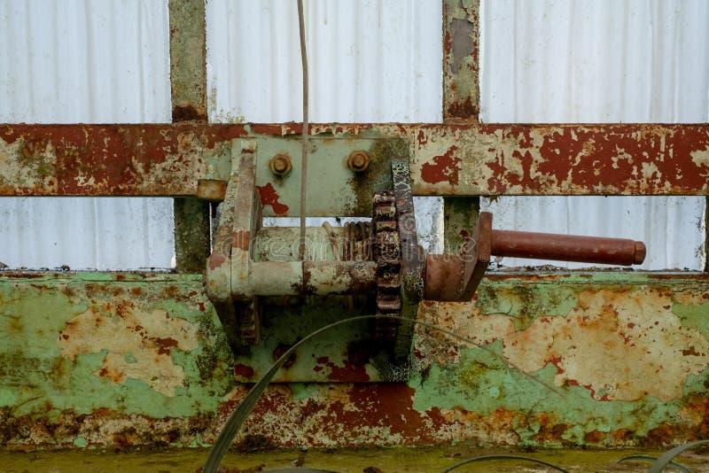 Detalhe no wintergarden, parte das estufas reais em Laken, fotografada do interior foto de stock royalty free