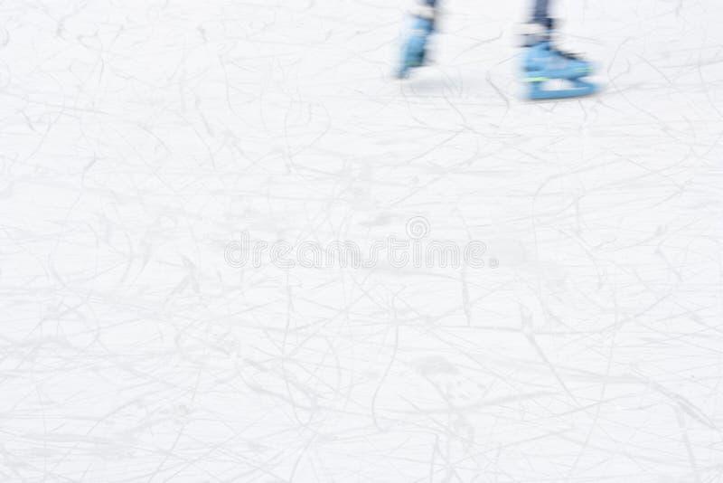 Detalhe obscuro da patinagem no gelo dos Arty imagem de stock royalty free