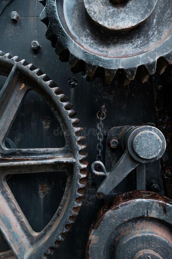 Detalhe oxidado velho das ferramentas foto de stock
