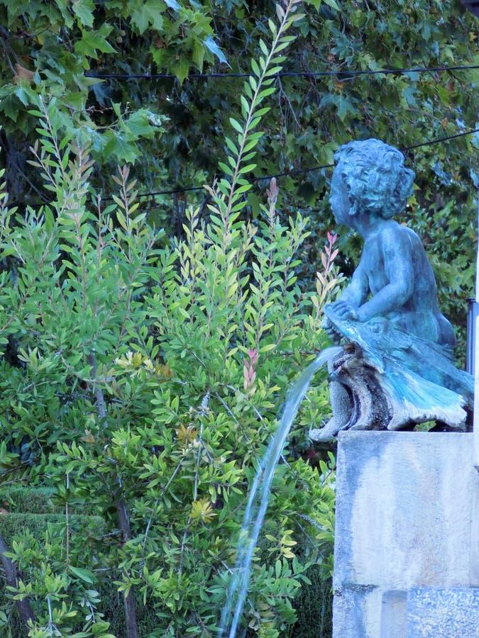 Detalhe-Priego escultural imagem de stock