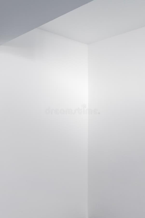 Detalhe vazio do interior da sala branca imagens de stock royalty free