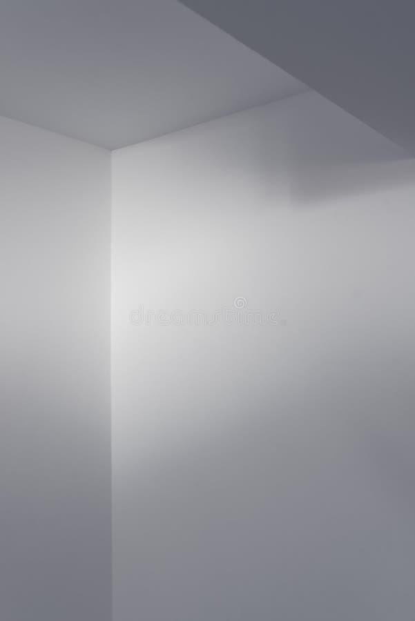 Detalhe vazio do interior da sala branca fotos de stock