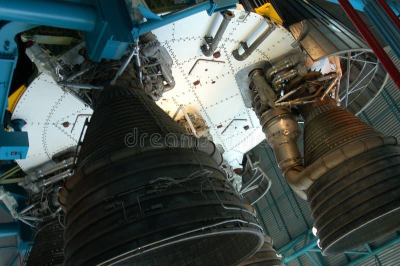 Detalhe velho do foguete fotografia de stock royalty free