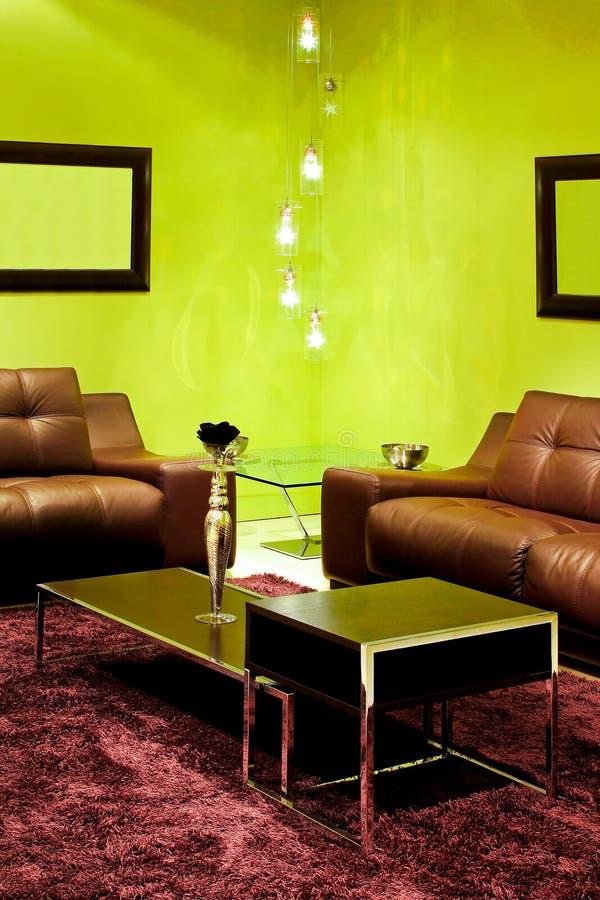 Detalhe vivo verde foto de stock royalty free