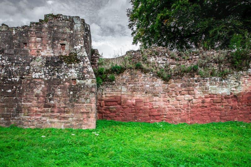 Detalhes arquitetónicos do castelo medieval fotos de stock royalty free