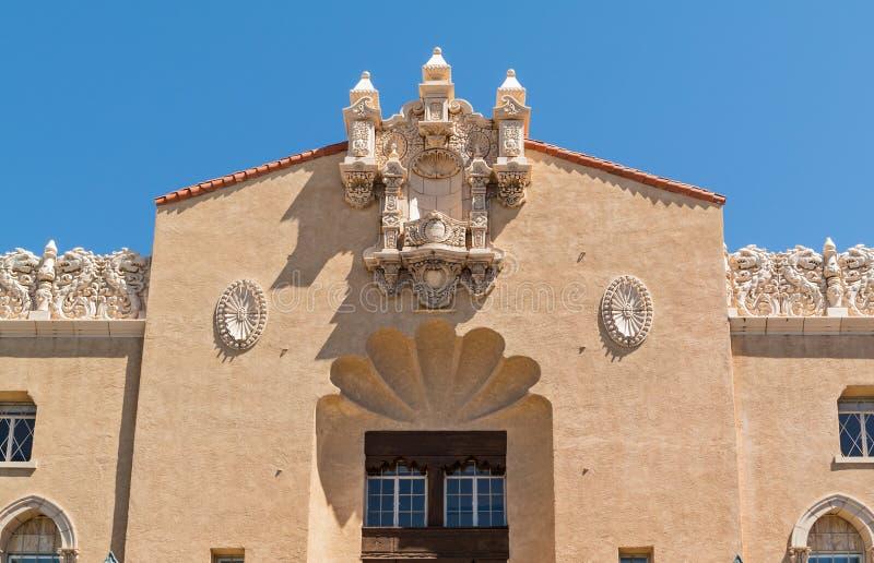 Detalhes arquitetónicos elaborados imagem de stock