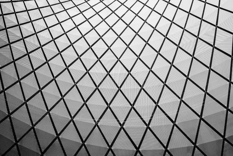 Detalhes arquitet?nicos de Fulton Center, em Manhattan, New York City foto de stock