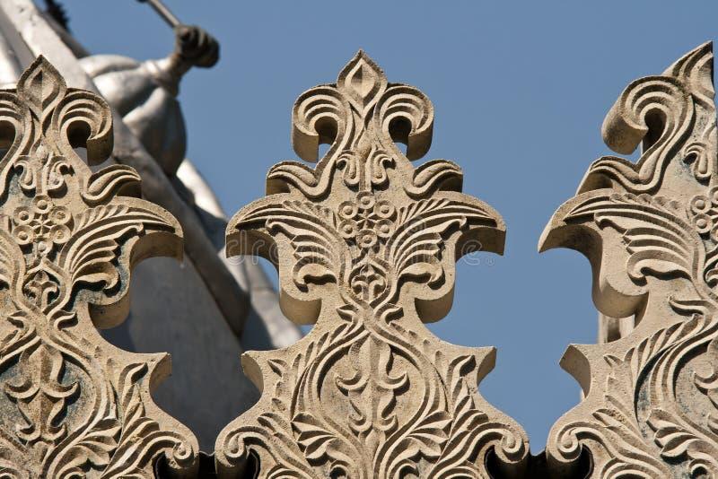 Detalhes bonitos do arhitecture fotos de stock royalty free