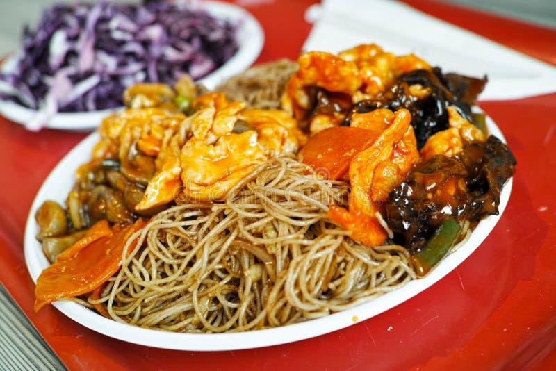 Detalhes chineses do alimento fotografia de stock royalty free