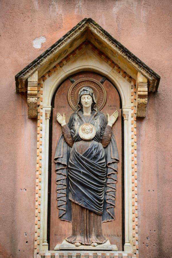 Detalhes da arquitetura perto de San Marco Piazza em Veneza It?lia fotos de stock