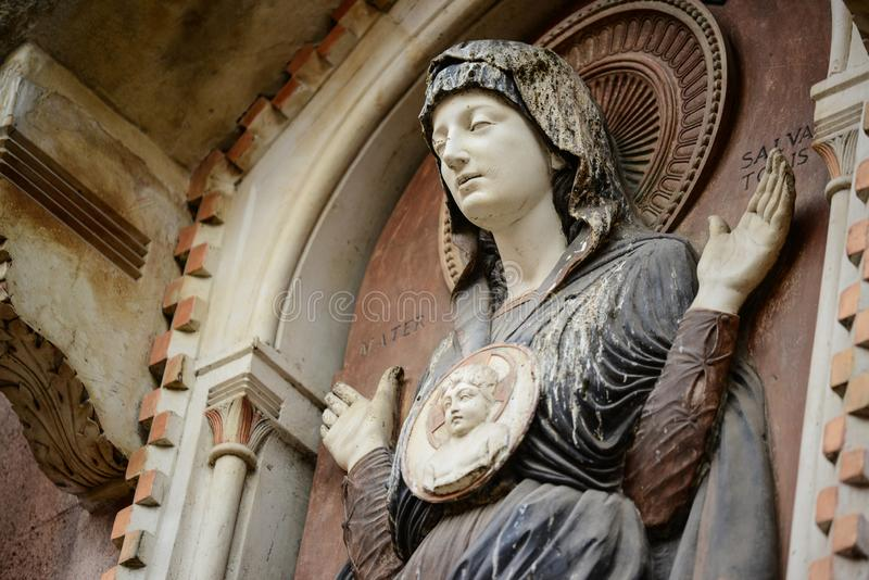 Detalhes da arquitetura perto de San Marco Piazza em Veneza It?lia imagem de stock royalty free