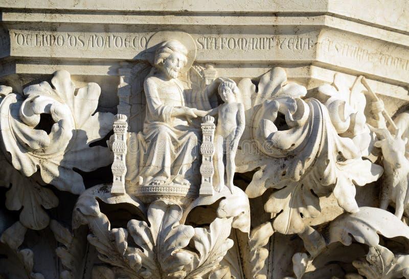 Detalhes da arquitetura perto de San Marco Piazza em Veneza It?lia fotografia de stock royalty free