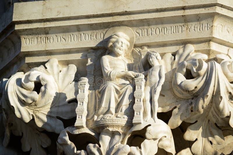 Detalhes da arquitetura perto de San Marco Piazza em Veneza It?lia imagens de stock royalty free