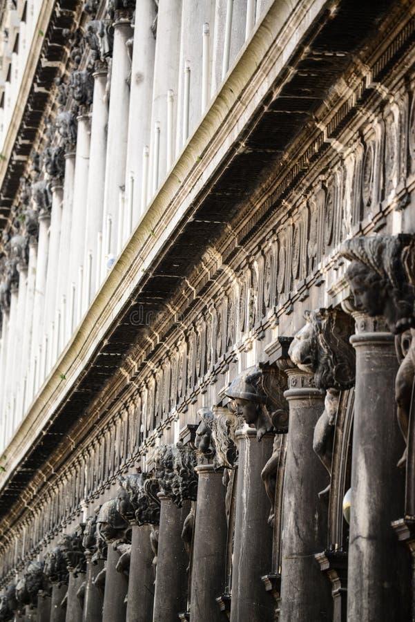 Detalhes da arquitetura perto de San Marco Piazza em Veneza It?lia imagens de stock