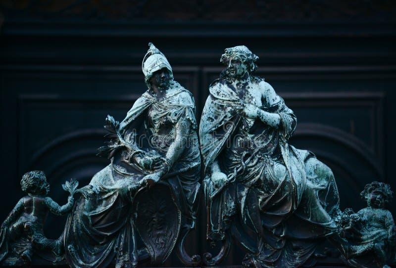 Detalhes da arquitetura perto de San Marco Piazza em Veneza It?lia fotos de stock royalty free
