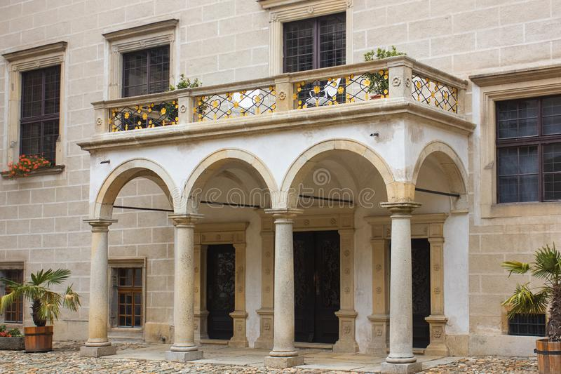 Detalhes da arquitetura Rep?blica checa Arquitetura de Europa fotografia de stock royalty free