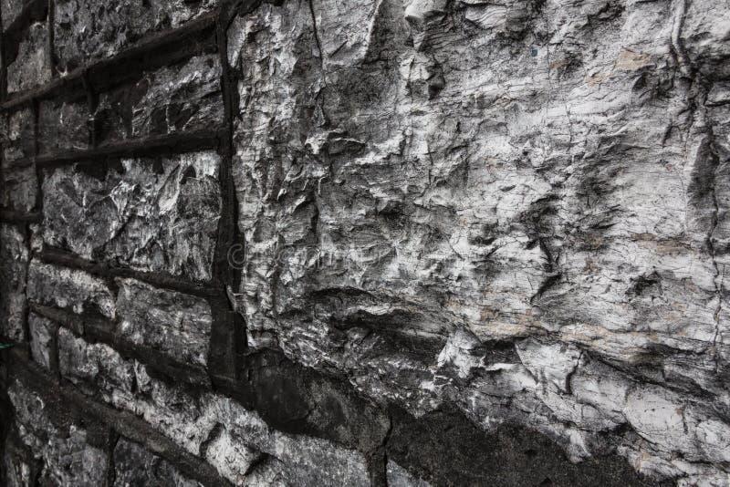 Detalhes da parede de pedra fotografia de stock royalty free