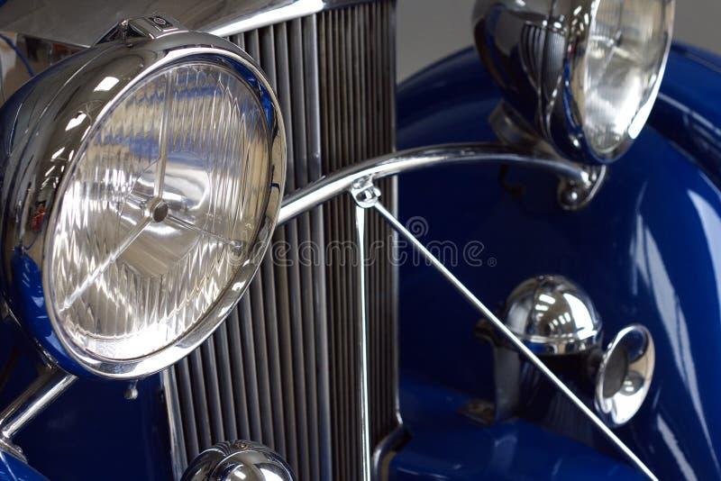 Detalhes de carro clássico fotos de stock