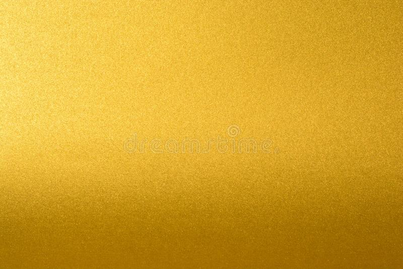 7ef4dd700 Detalhes de fundo dourado da textura com inclinação e sombra Parede da  pintura da cor do