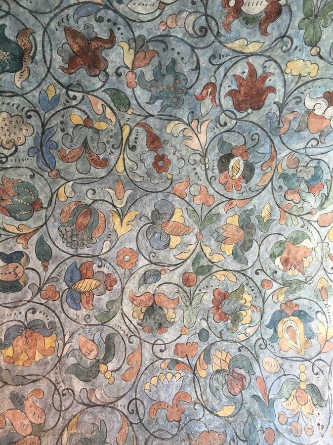 Detalhes de igreja dos basil's do st foto de stock