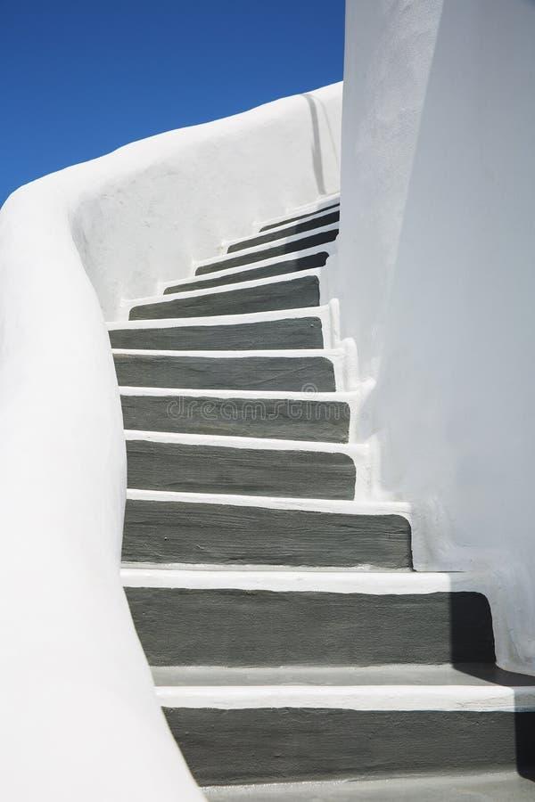 Detalhes de ilha de Santorini fotografia de stock royalty free