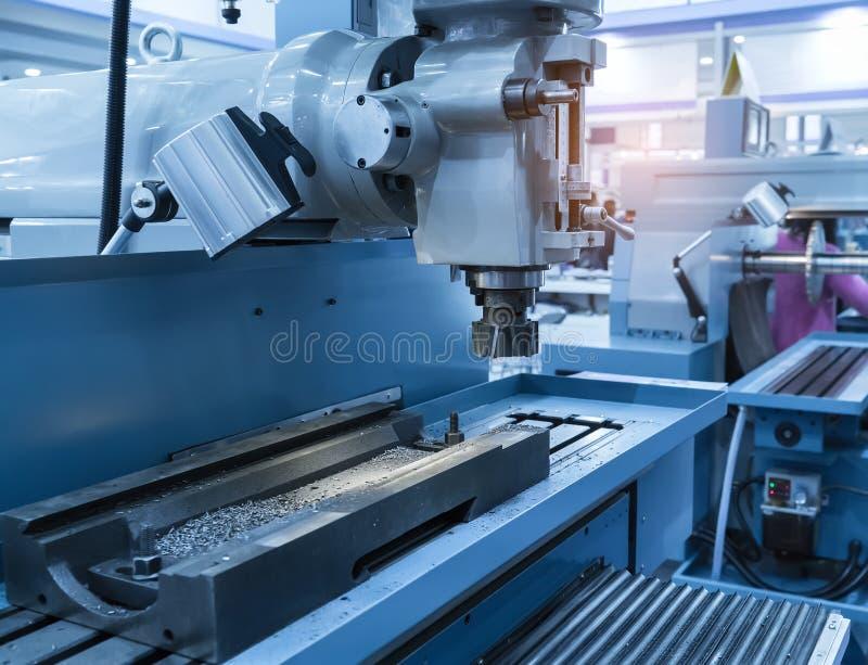 Detalhes de máquina do CNC foto de stock royalty free