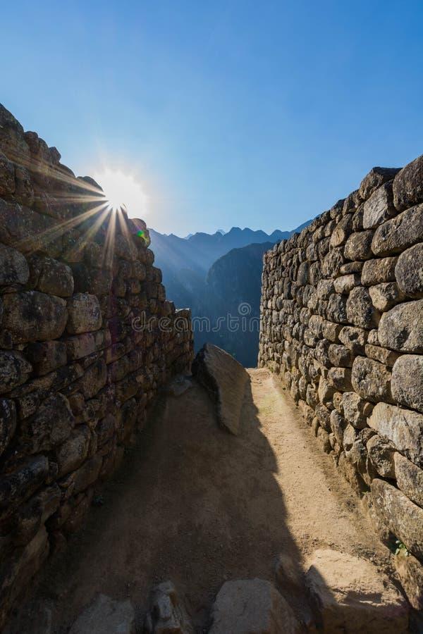 Detalhes de Machu Picchu imagem de stock royalty free